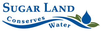 Sugar Land Conserves Water Logo