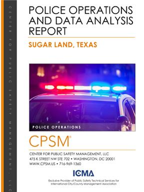 Assessment Report - Sugar Land Police Department