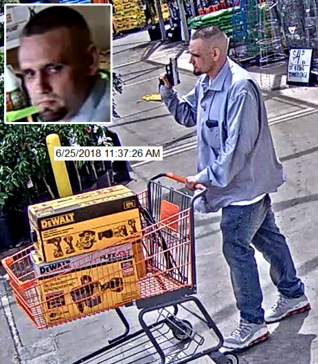 Home Depot Suspect