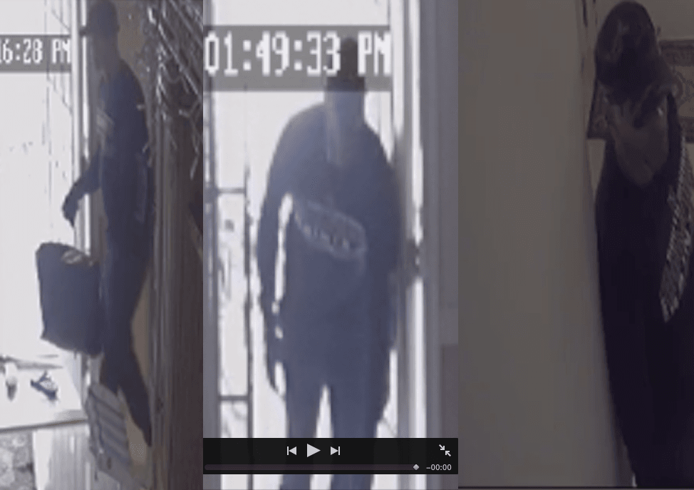 Thief Seen on Camera Steals more than $94,000 from Family