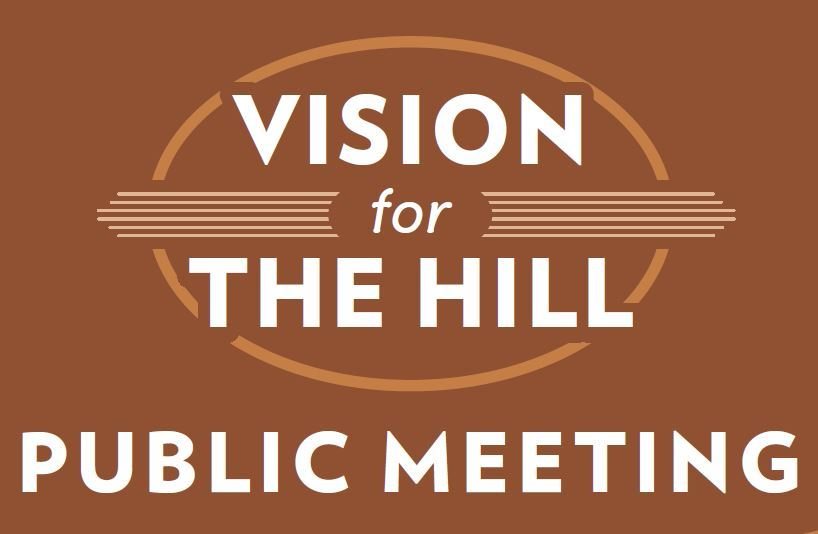 Vision for the Hill Public Meeting