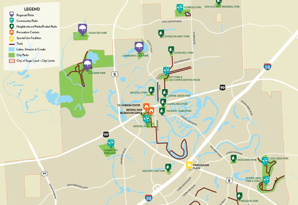 Parks Trails Map Preview
