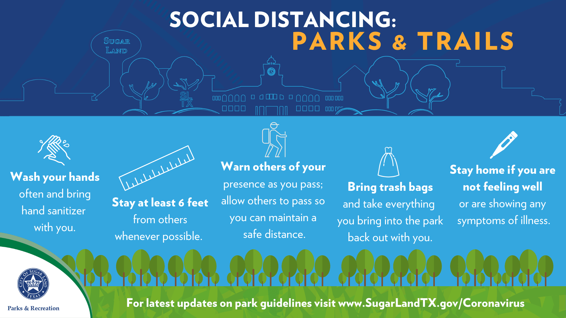 Social Distancing in Parks
