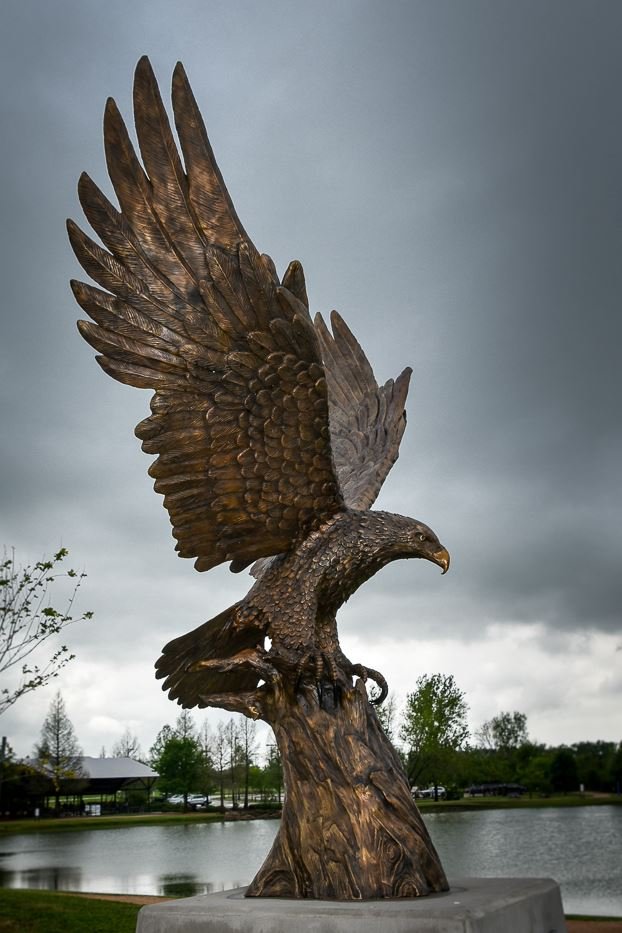 2020 Eagle Sculpture